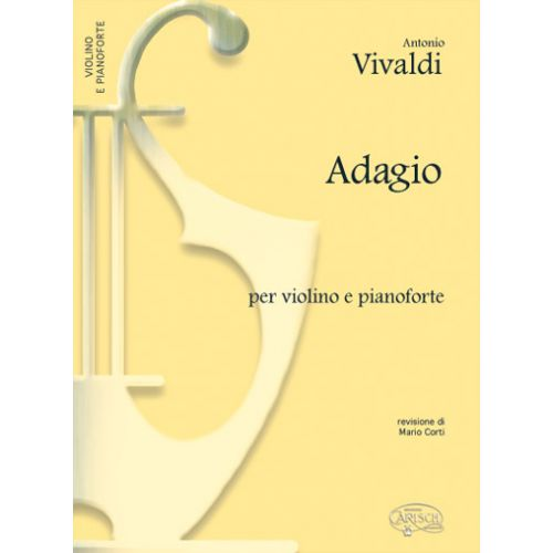 CARISCH VIVALDI ANTONIO - ADAGIO - VIOLON, PIANO