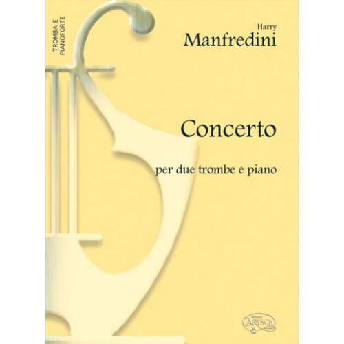 CARISCH MANFREDINI HARRY - CONCERTO - TROMPETTE, PIANO