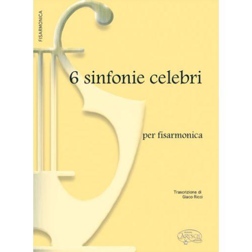 CARISCH 6 CELEBRI SINFONIE - ACCORDEON