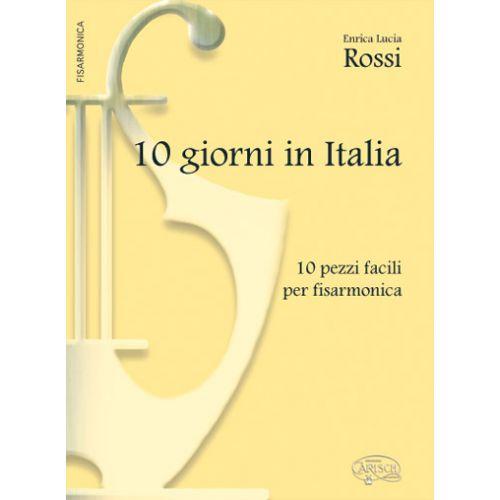 CARISCH ROSSI ENRICA LUCIA - 10 GIORNI IN ITALIA - ACCORDEON