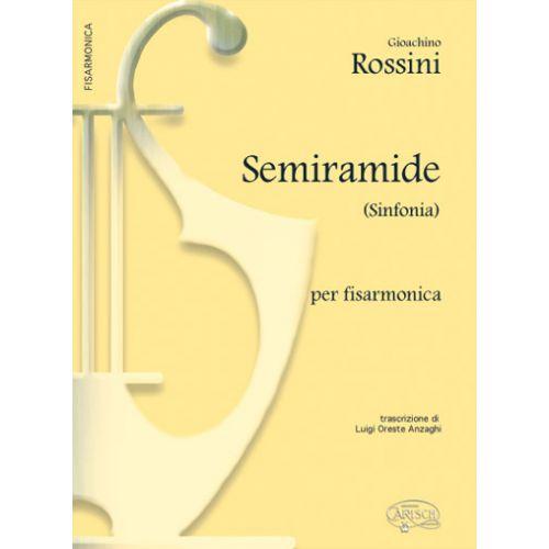 CARISCH ROSSINI GIOACHINO - SEMIRAMIDE SINFONIA - ACCORDEON