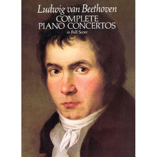 DOVER BEETHOVEN L.VAN - COMPLETE PIANO CONCERTO - FULL SCORE