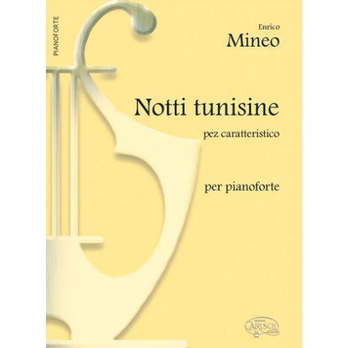 CARISCH MINEO ENRICO - NOTTI TUNISINE - PIANO