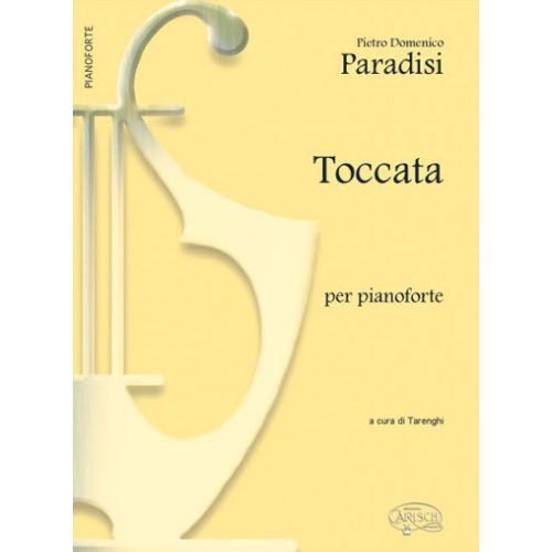 CARISCH PARADISI PIETRO DOMENICO - TOCCATA - PIANO