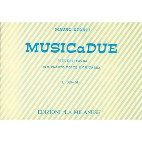 CARISCH STORTI MAURO - MUSICA DUE - GUITARE, FLÛTE