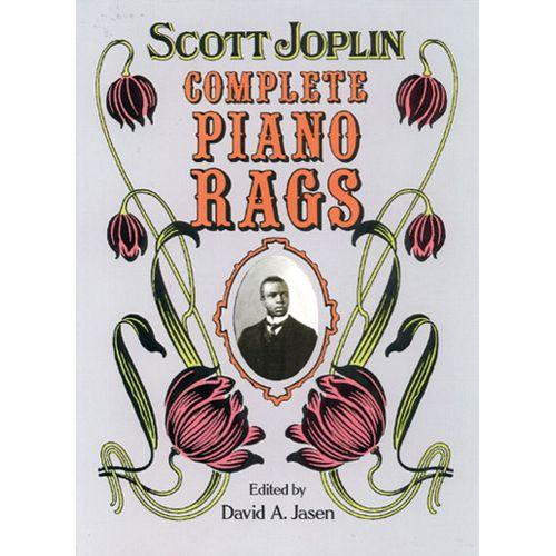 DOVER SCOTT JOPLIN - COMPLETE PIANO RAGS