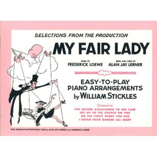 IMP LOEWE F., LERNER A.J. - MY FAIR LADY PIANO FACILE - PIANO FACILE