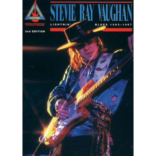 HAL LEONARD VAUGHAN STEVIE RAY - LIGHTNIN' BLUES 1983-1987 - GUITAR TAB