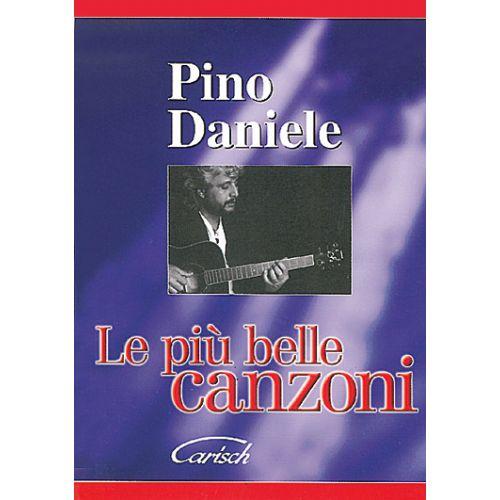 CARISCH DANIELE PINO - PIU' BELLE CANZONI - PAROLES ET ACCORDS