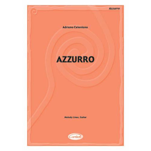 CARISCH CELENTANO ADRIANO - AZZURRO - PAROLES ET ACCORDS