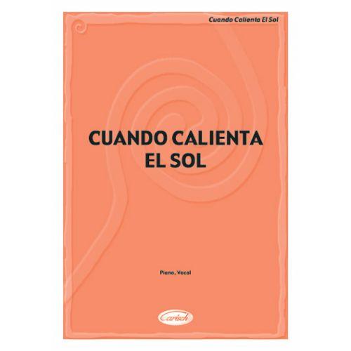 CARISCH CUANDO CALIENTA EL SOL - PIANO, CHANT