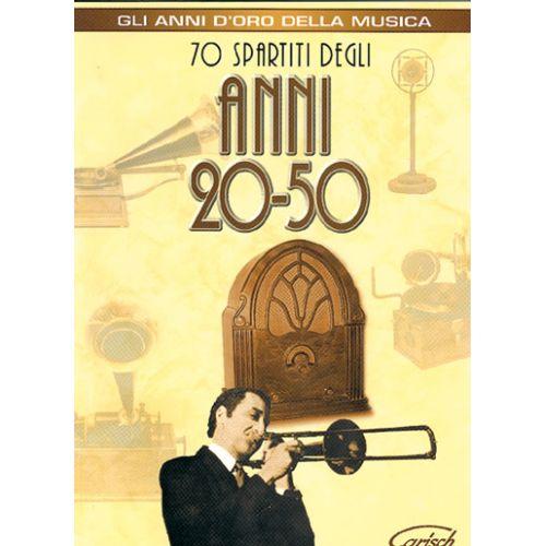 CARISCH ANNI 20-50 - PAROLES ET ACCORDS