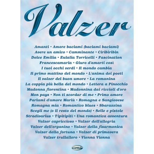 CARISCH VALZER - PAROLES ET ACCORDS