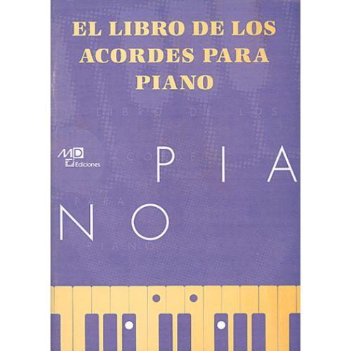 MUSIC DISTRIBUCION LIBRO DE LOS ACORDES - PIANO