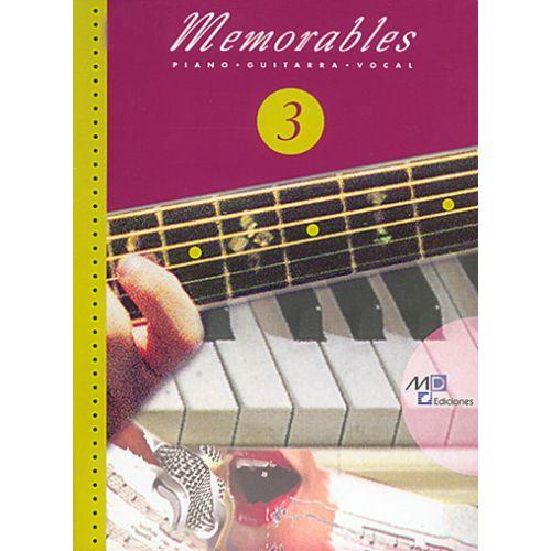 MUSIC DISTRIBUCION MEMORABLES VOL.3 - PVG