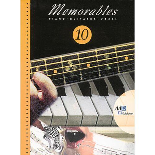 MUSIC DISTRIBUCION MEMORABLES VOL.10 - PVG