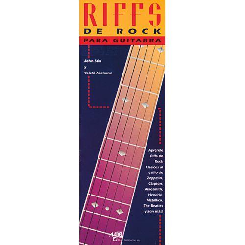 MUSIC DISTRIBUCION STIX JOHN, ARAKAWA Y. - RIFFS DE ROCK - GUITARE