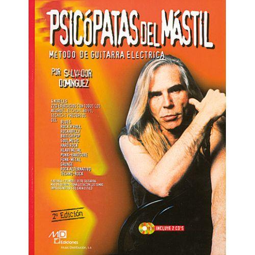 MUSIC DISTRIBUCION DOMINGUEZ SALVADOR - PSICOPATAS DEL MASTIL + 2 CD - GUITARE