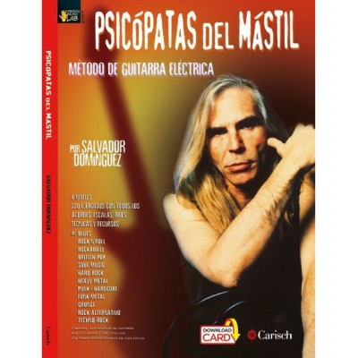 MUSIC DISTRIBUCION DOMINGUEZ SALVADOR - PSICOPATAS DEL MASTIL + 2 CD - GUITARE
