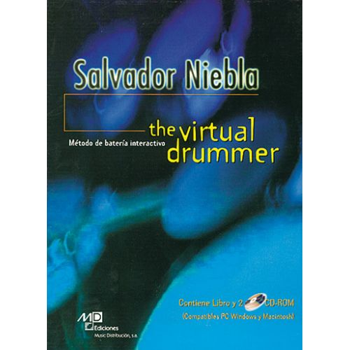 MUSIC DISTRIBUCION NIEBLA SALVADOR - VIRTUAL DRUMMER + 2 CD - BATTERIE