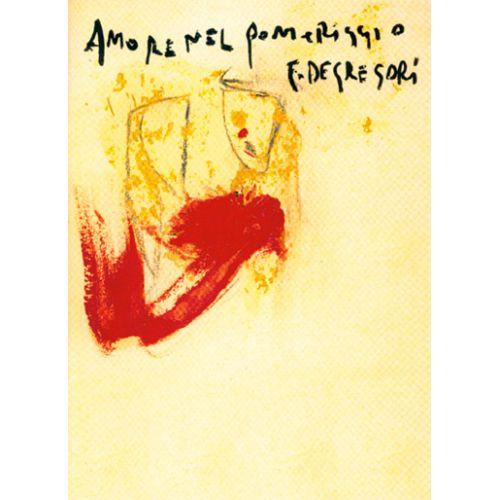 CARISCH DE GREGORI - AMORE NEL POMERIGGIO - PAROLES ET ACCORDS