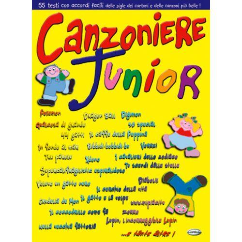 CARISCH CANZONIERE JUNIOR VOL. 1 - PAROLES ET ACCORDS