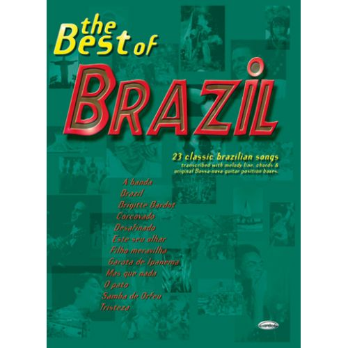 CARISCH BEST OF BRAZIL - LIGNE MELODIQUE, ACCORDS GUITARE