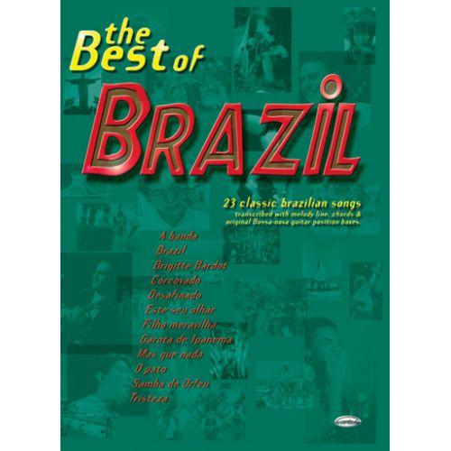 CARISCH BEST OF BRAZIL - LIGNE MELODIQUE, ACCORDS GUITARE