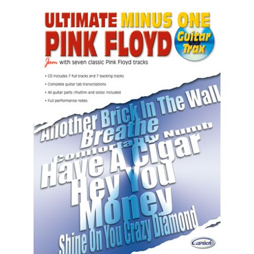 CARISCH PINK FLOYD - ULTIMATE MINUS ONE GUITAR TRAX VOL.1 + CD