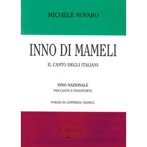 CARISCH NOVARO - INNO DI MAMELI - PIANO, CHANT