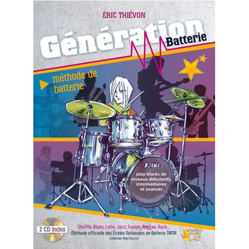CARISCH THIEVON ERIC - GENERATION BATTERIE + CD