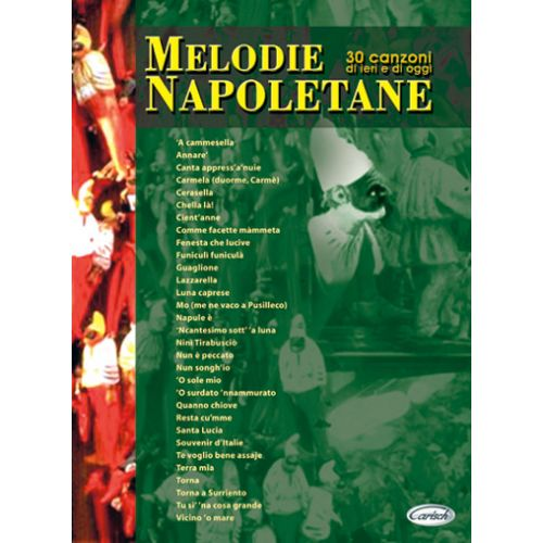 CARISCH MELODIE NAPOLETANE - PAROLES ET ACCORDS