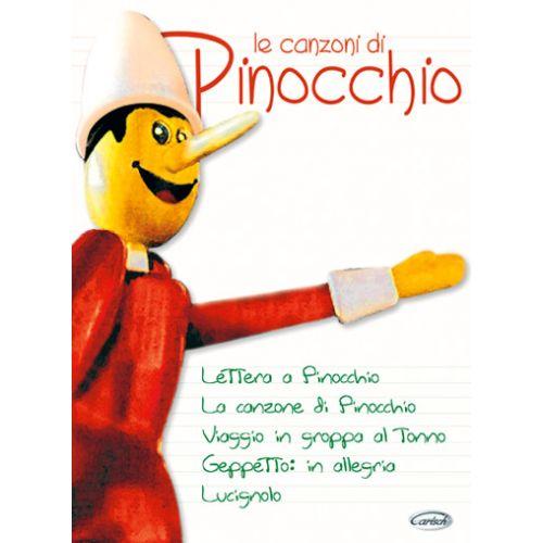 CARISCH CANZONI DI PINOCCHIO - PIANO FACILE