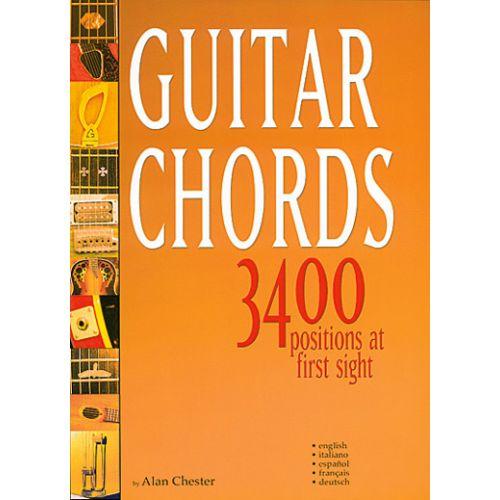 CARISCH CHESTER ALAN - GUITAR CHORDS 3400 POSITIONS - GUITARE