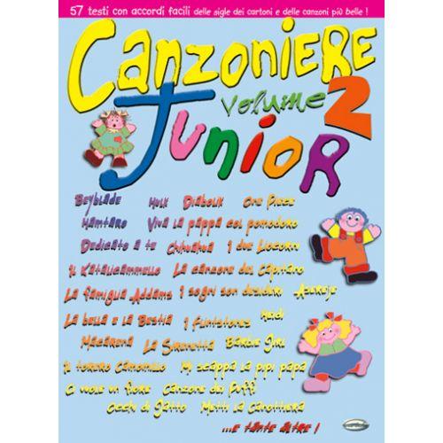 CARISCH CANZONIERE JUNIOR VOL.2 - PAROLES ET ACCORDS