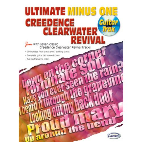 CARISCH CREEDENCE CLEARWATER REVIVAL - ULTIMATE MINUS ONE GUITAR TRAX + CD