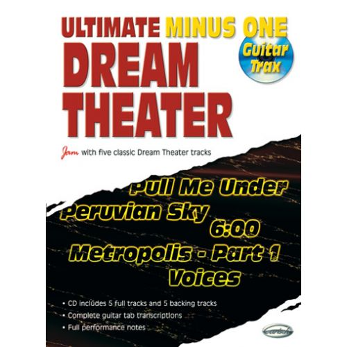 CARISCH DREAM THEATER - ULTIMATE MINUS ONE GUITAR TRAX VOL.1 + CD