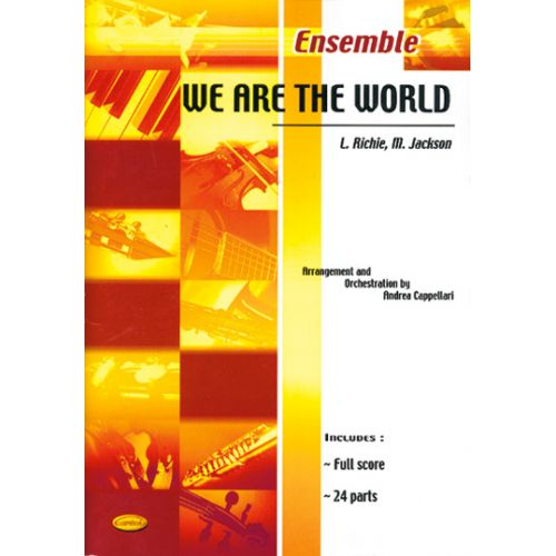 CARISCH JACKSON RICHIE - WE ARE THE WORLD - ENSEMBLE MUSICAL