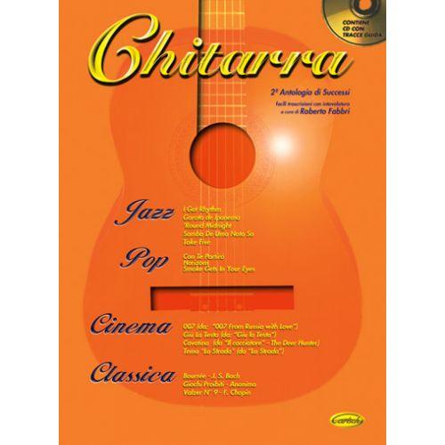 CARISCH FABBRI ROBERTO - CHITARRA ANTOLOGIA VOL.2 + CD - GUITARE