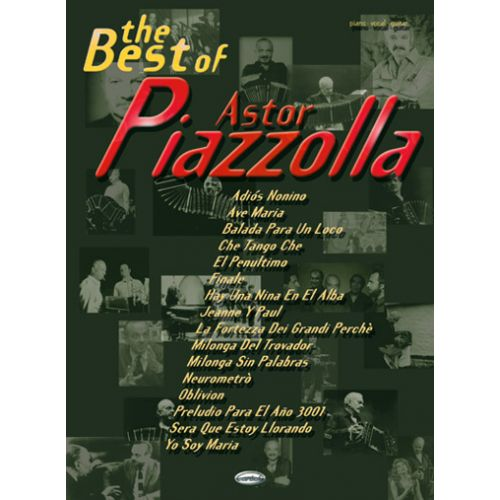 CARISCH PIAZZOLLA ASTOR - BEST OF - PIANO, CHANT