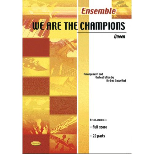 CARISCH QUEEN - WE ARE THE CHAMPIONS - ENSEMBLE MUSICAL