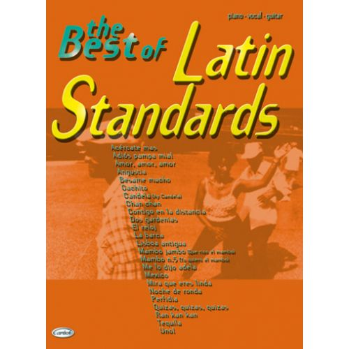 CARISCH BEST OF LATIN STANDARDS - PVG