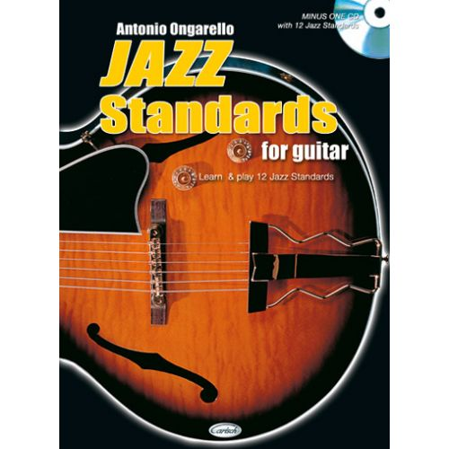 CARISCH ONGARELLO - JAZZ STANDARDS FOR GUITAR + CD