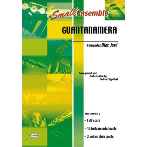 CARISCH DIAZ JOSE - GUANTANAMERA - ENSEMBLE MUSICAL (REDUIT)