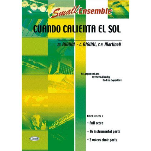 CARISCH CUANDO CALIENTA EL SOL - ENSEMBLE MUSICAL (REDUIT)