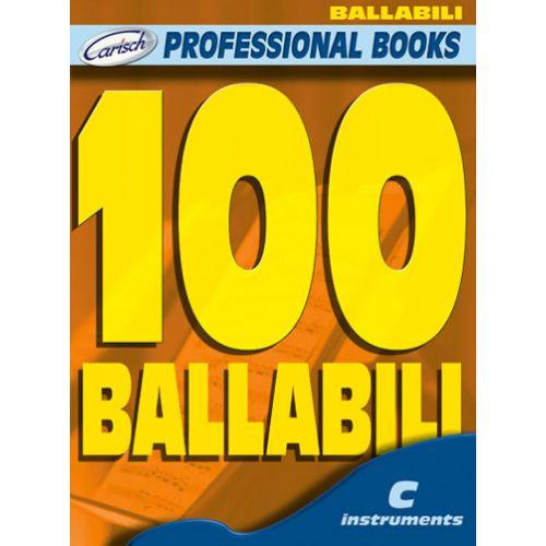 CARISCH 100 BALLABILI - INSTRUMENTS EN DO