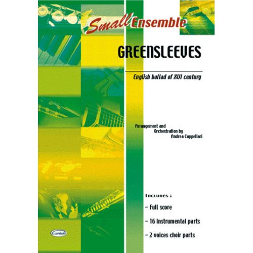 CARISCH GREENSLEEVES - ENSEMBLE MUSICAL
