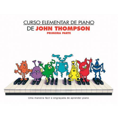 CARISCH THOMPSON JOHN - CURSO ELEMENTARE PIANO PORTOGH - PIANO