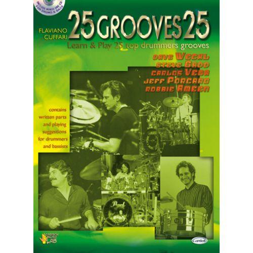 CARISCH CUFFARI FLAVIANO - 25 GROOVES + CD VOL.1 - BATTERIE