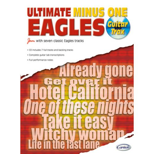 CARISCH EAGLES - ULTIMATE MINUS ONE GUITAR TRAX + CD